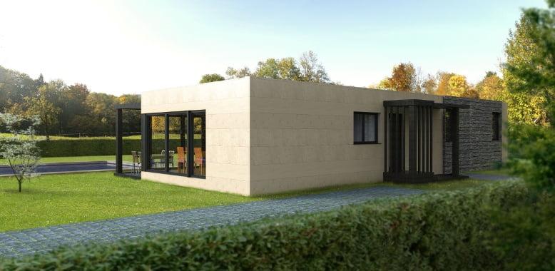 casas modulares em aço leve