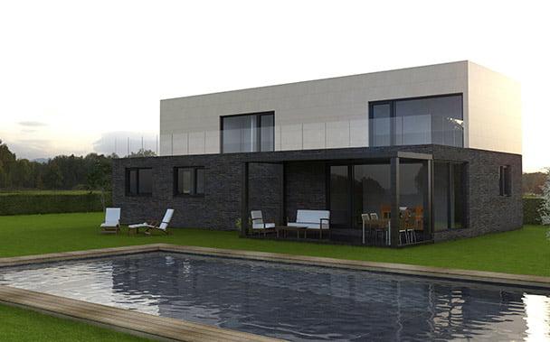 casa modular de 250 m²