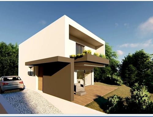 Casas Modulares T3 100M2 2 Piso Chave na mão