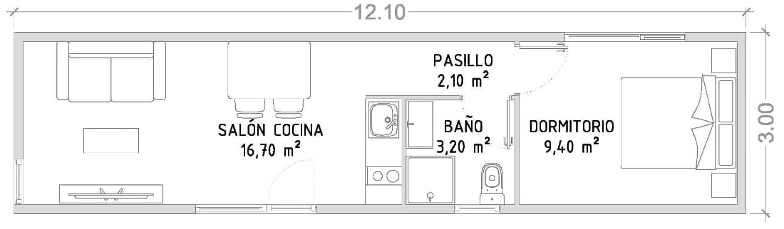 projeto casa modular