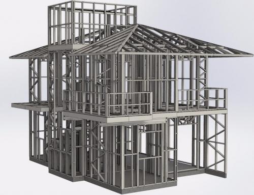 Construção em aço leve Preços M2