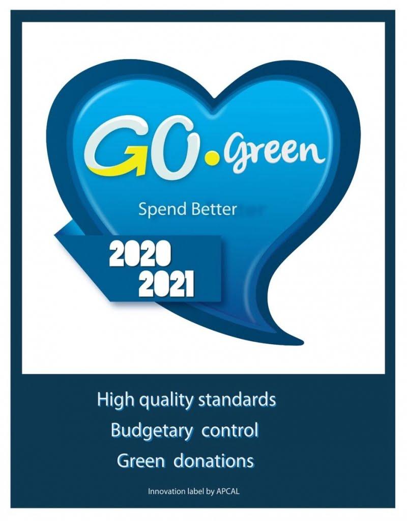 selo Go Green, spend better