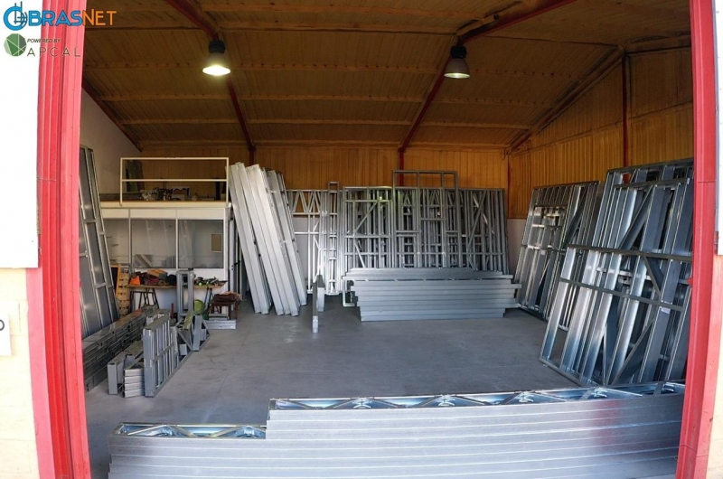 primeiro armazém de preparação de perfis lsf de Portugal