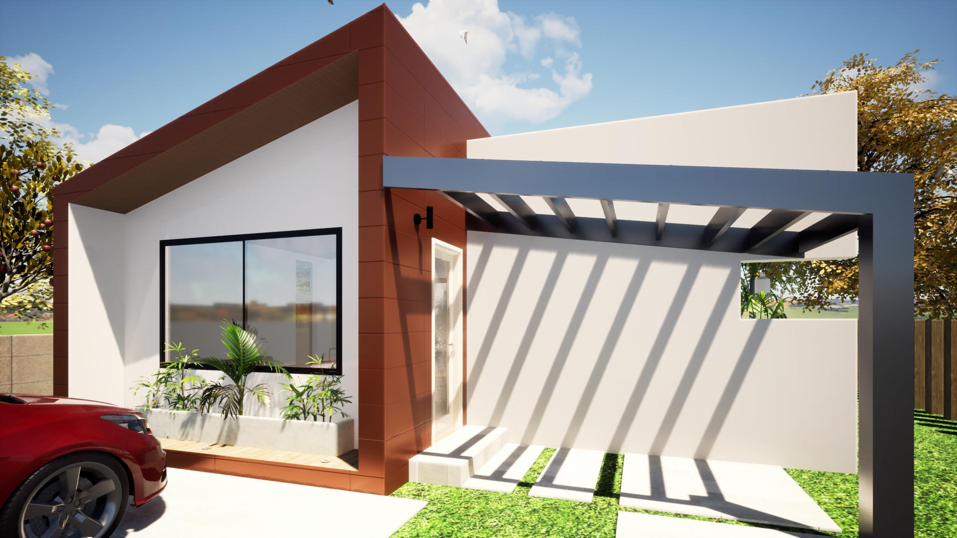 Casas Pré-fabricadas preços low cost
